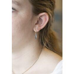 Julie Sandlau Harper oorhangers licht blauw