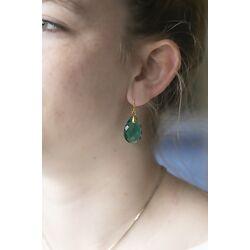 Julie Sandlau Eden oorbellen groen