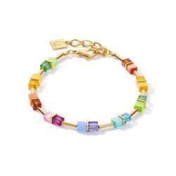 Coeur de Lion armband 5020-30-1535 regenboog goud