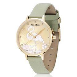 Julie Julsen horloge Flamingo mint groen