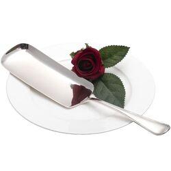Zilveren schep om kruimels van tafel te vegen