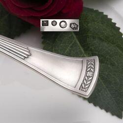 Zilveren juslepel model Empire dubbelzijdig van Kempen