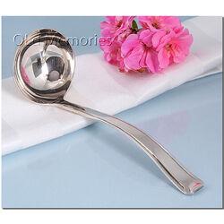 Zilveren juslepel Hooijkaas 15 cm