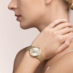 Coeur de Lion horloge verguld met antraciet 7602-72-1616