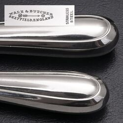 Zilveren messen model 251 6 dinermessen en 4 dessertmessen Gerritsen & Van Kempen 1931