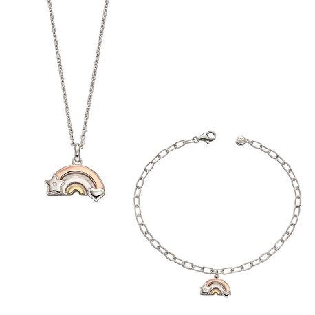 Zilver setje Regenboog van Little Star Jewelry
