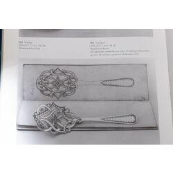 Stel zilveren pasteischeppen 1871 J.H. Helweg topkwaliteit