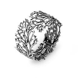 Giovanni Raspini koraal bangle 7904 zilveren armband