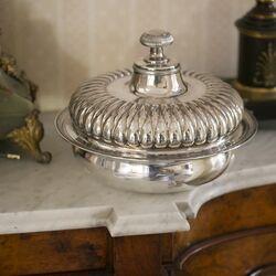 Antieke zilveren casserole Weduwe Stellingwerff anno 1826