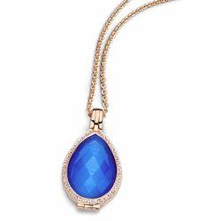 Rosé set medaillon Goccia blauw MY iMenso