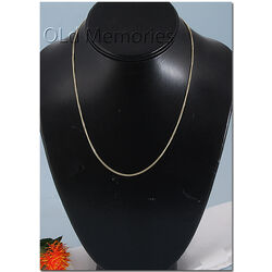 Gouden collier 45cm