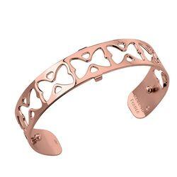 Les Georgettes 12 mm armband roséverguld Papillon