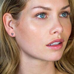 Zinzi zilveren oorstekers drie bolletjes ZICH1588