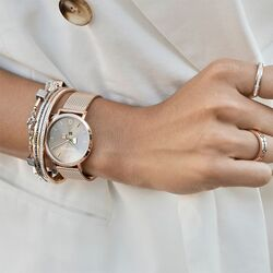Coeur de Lion rosé horloge bruin 7610-70-1636