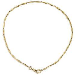 Gouden horloge ketting uit 1930 prachtig als halsketting