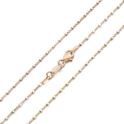 MY iMenso roséverguld cubetto two tone collier 27-0014