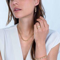 Luxe sieradenset met grote schakels van Zinzi