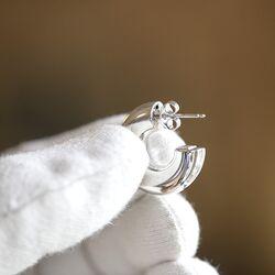 Heide Heinzendorff zilveren steekcreolen S134801000