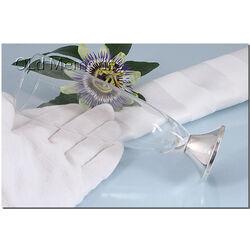Flute op voet zilver