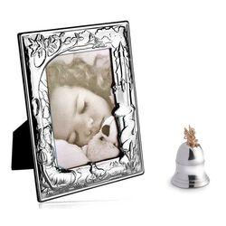 Sprookjes zilveren cadeauset tandendoosje en fotolijst