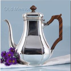 Zilveren koffiepot Cardinaal