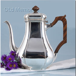 Zilveren koffiepot model kardinaal