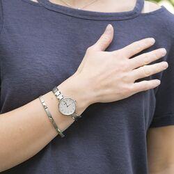 Boccia horloge cadeauset titanium 3286-03 met gratis armband