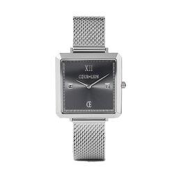 Coeur de Lion horloge Grafiet vierkant 7620-70-1724