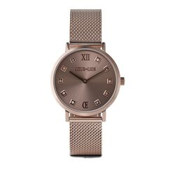 Coeur de Lion horloge taupe met Champagne 7615-70-1129