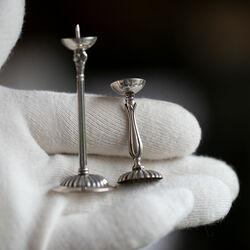 Miniatuur kandelaartjes penkandelaars Occasion Italie