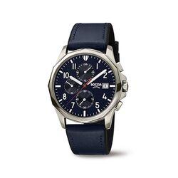 Boccia Titanium heren horloge blauw 3747-02