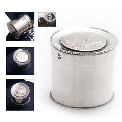 Antiek zilveren muntendoosje 1831
