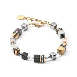 Coeur de Lion armband grijs goud 2839-30-1216