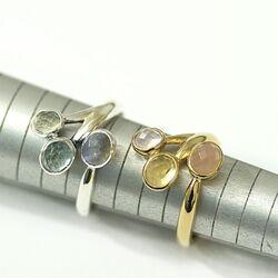 Rabinovich vergulde ring Rainbow 72903398