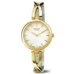 Boccia Titanium verguld dames horloge 3239-03