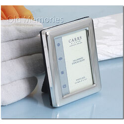 Zilver fotolijstje 5 x 4 cm PR1 Carrs