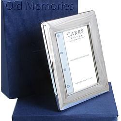 Carrs Gladde Zilveren Fotolijst 9x6 Cm