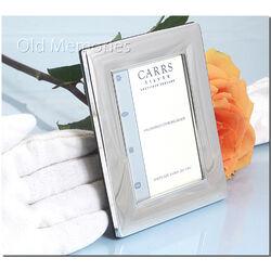 Carrs glad zilveren fotolijstje 9x6 Cm