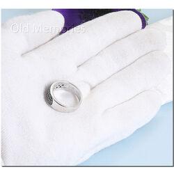 Zilveren ring zwart zirconia ZIR334z Zinzi