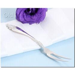 Zilveren belegvorkje 15 cm