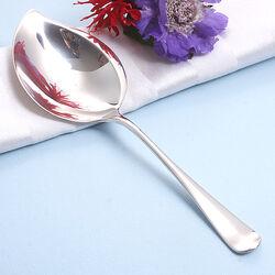 Zilveren vlalepel 22 cm