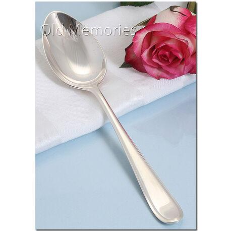 zilveren dessertlepel prinses