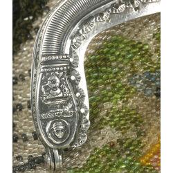 antiek zilveren tasbeugel