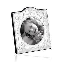 Carrs zilveren fotolijst strikjes Ba63