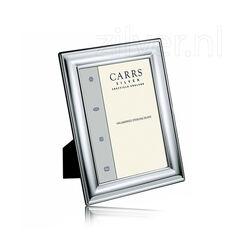 Carrs fotolijst zilver glad montuur 6 X 9