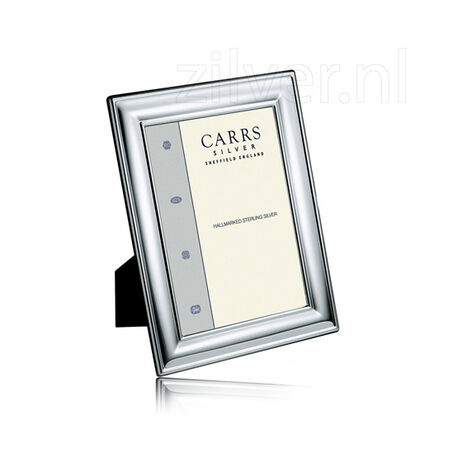 Zilveren fotolijst 9x6 Carrs