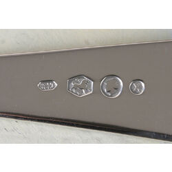 Zilver dinerlepel model puntfilet