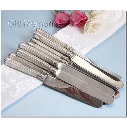 zilveren messen set van 14