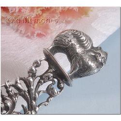 zilveren vouwbeen