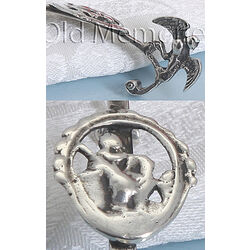antiek zilveren roomlepel